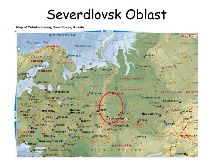 Severdlovsk Oblast