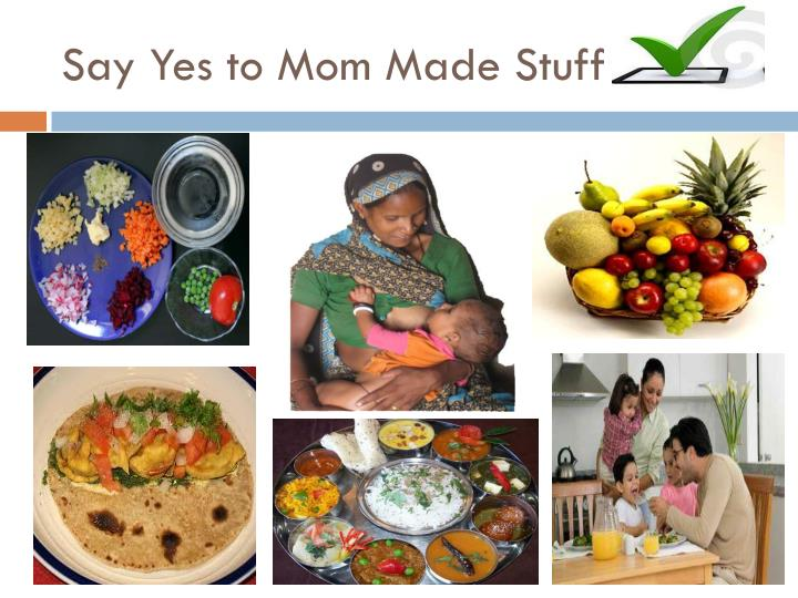 Say Yes to Mom Made Stuff