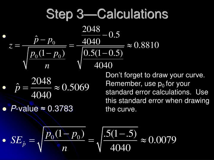 Step 3—Calculations