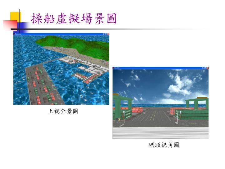 操船虛擬場景圖