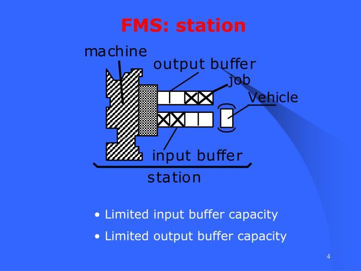 FMS: station