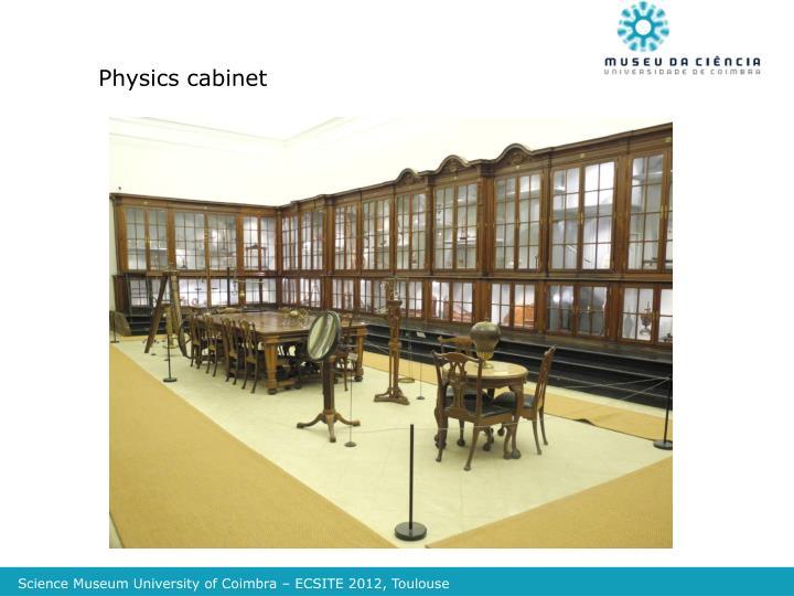 Physics cabinet