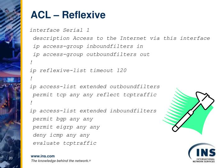 ACL – Reflexive