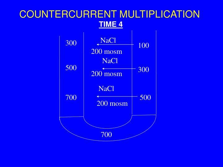 COUNTERCURRENT MULTIPLICATION