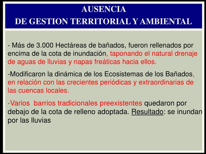 AUSENCIA