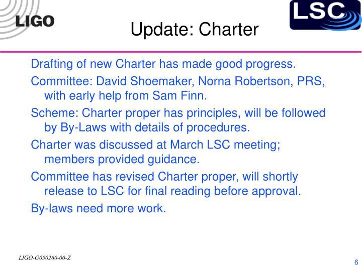 Update: Charter