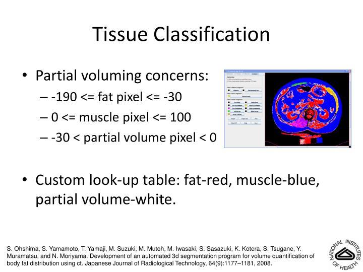 Tissue Classification