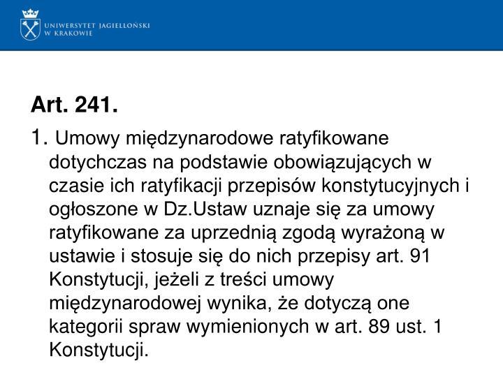 Art.241.