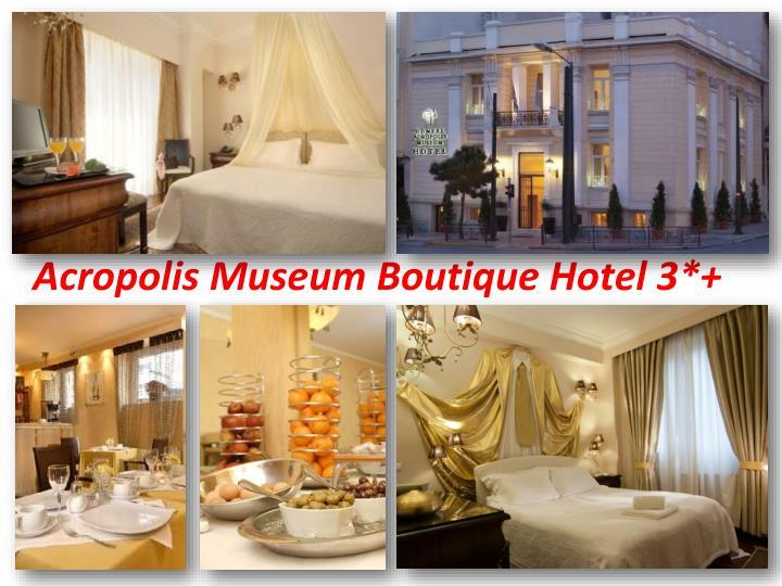 Acropolis Museum Boutique Hotel 3*+