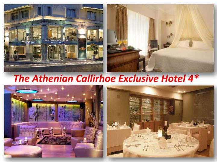 The Athenian Callirhoe Exclusive Hotel 4*