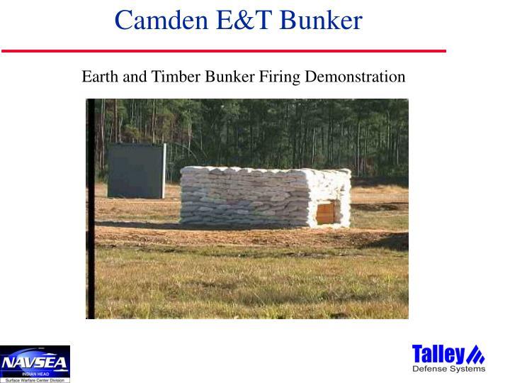 Camden E&T Bunker