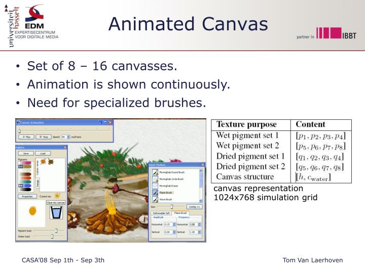 Animated Canvas
