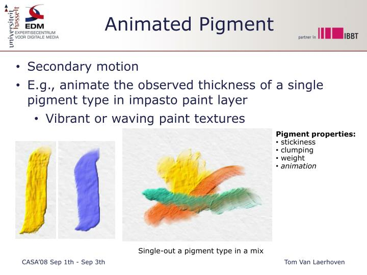 Animated Pigment