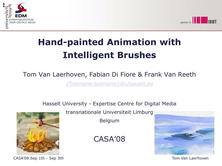 Hand-painted Animation with