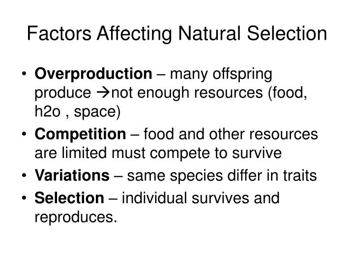 Natural Selection Can Cause Desirable Traits To