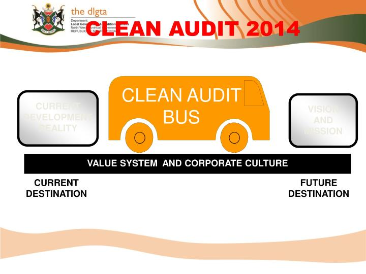 CLEAN AUDIT BUS