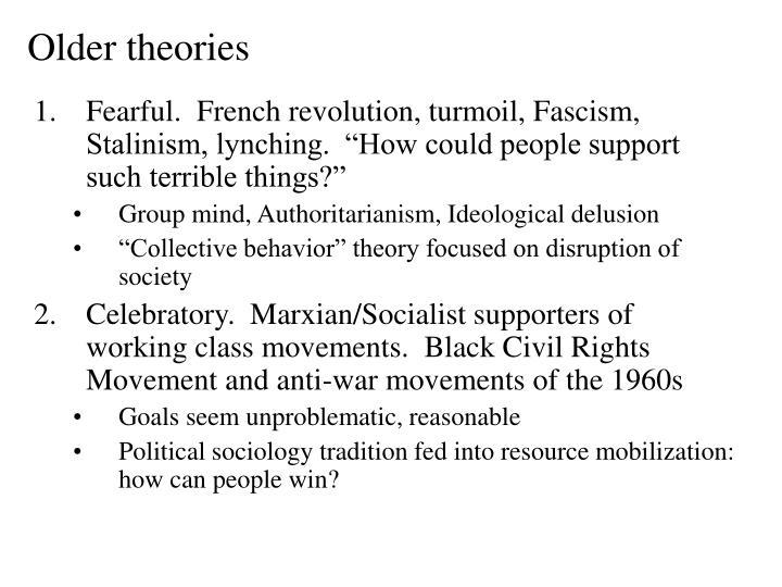 Older theories