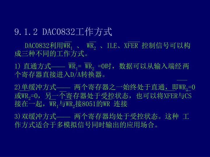9.1.2 DAC0832
