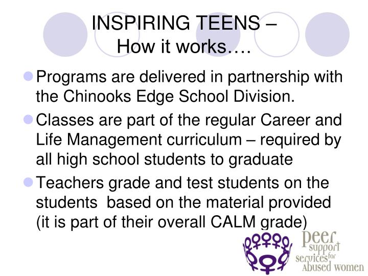 INSPIRING TEENS –