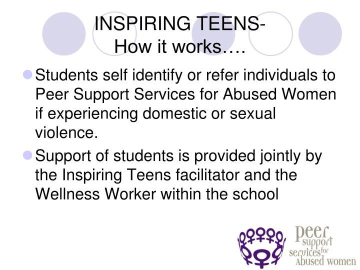 INSPIRING TEENS-