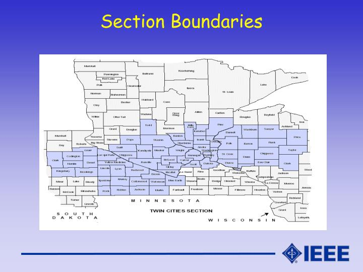 Section Boundaries