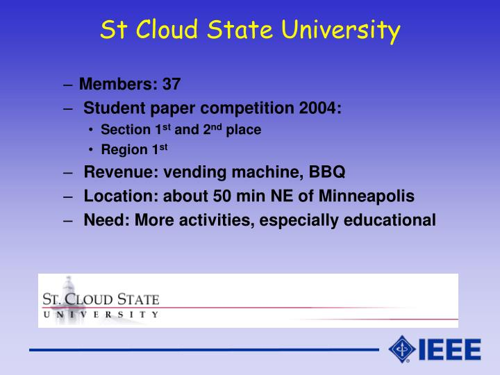 St Cloud State University