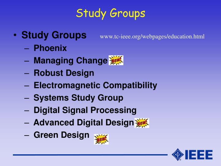 Study Groups