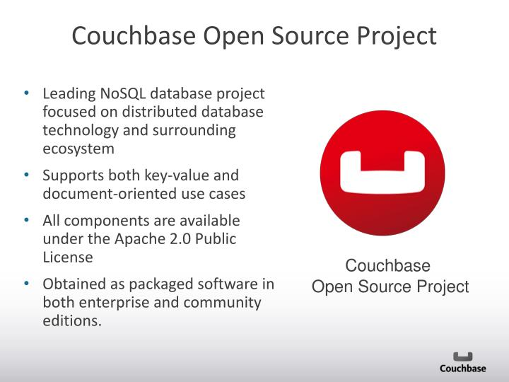 Couchbase Open Source Project