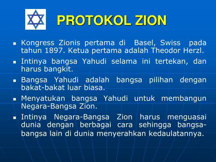 PROTOKOL ZION