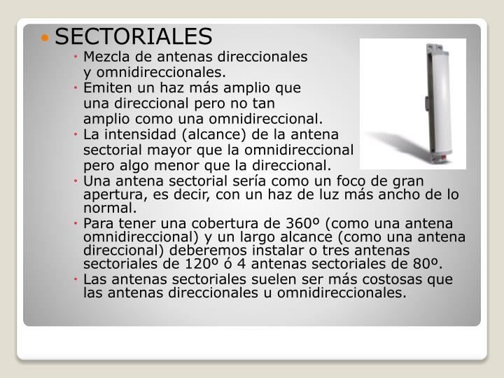 SECTORIALES