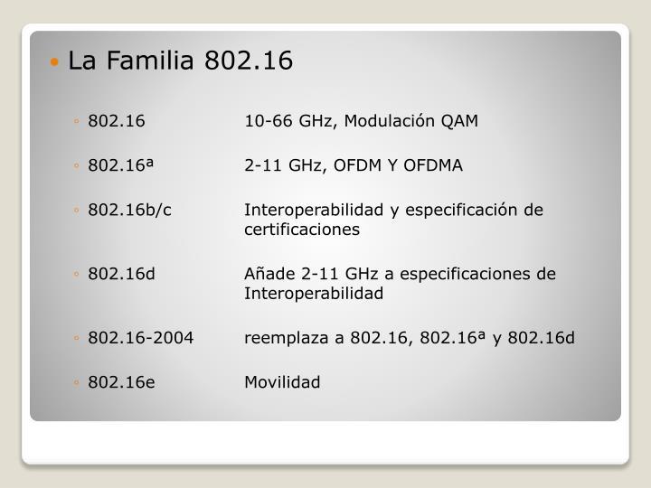 La Familia 802.16