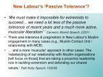 new labour s passive tolerance