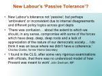 new labour s passive tolerance1