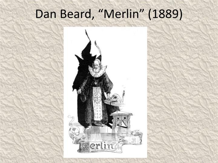 Dan beard merlin 1889