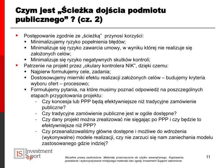 """Czym jest """"Ścieżka dojścia podmiotu publicznego"""" ? (cz. 2)"""