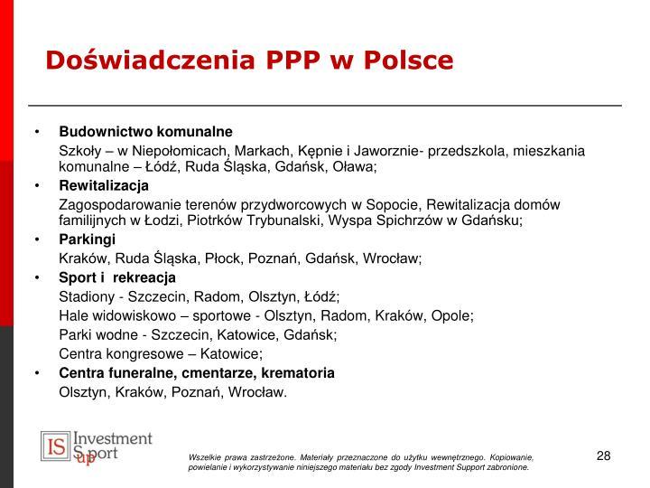Doświadczenia PPP w Polsce