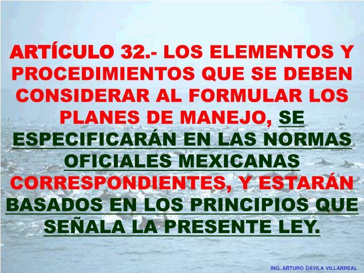 ARTÍCULO 32