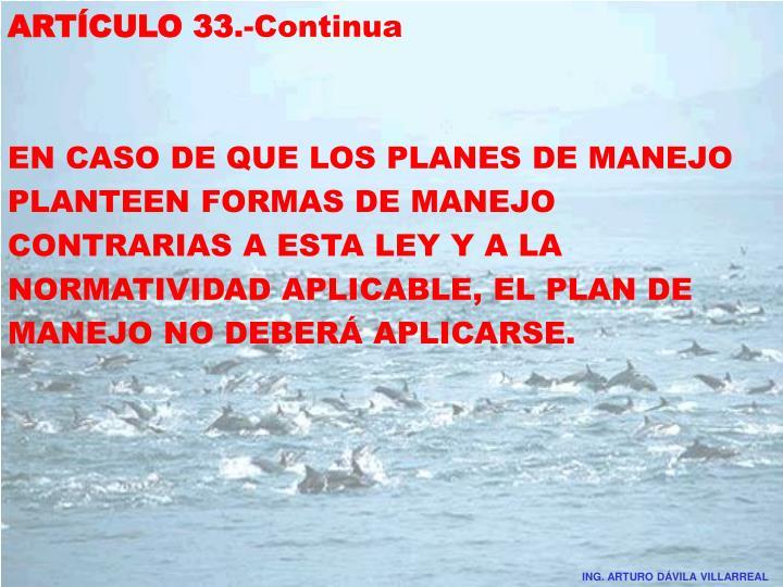 ARTÍCULO 33