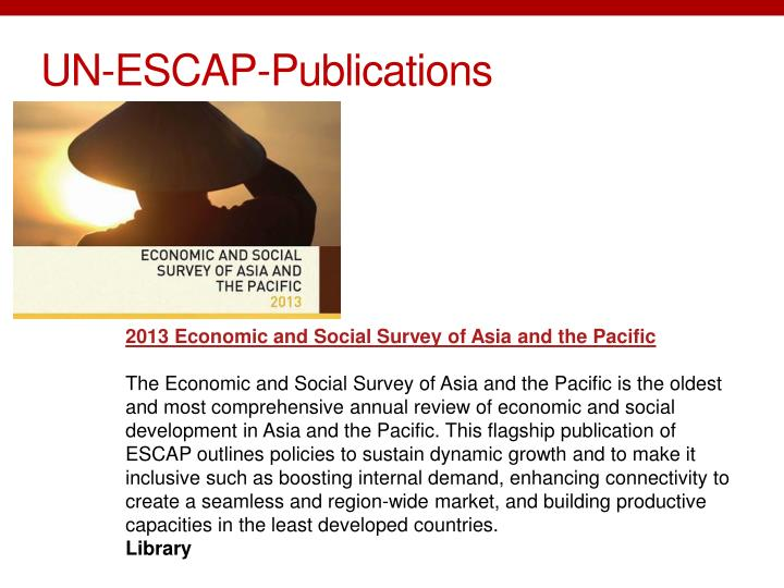 UN-ESCAP-Publications