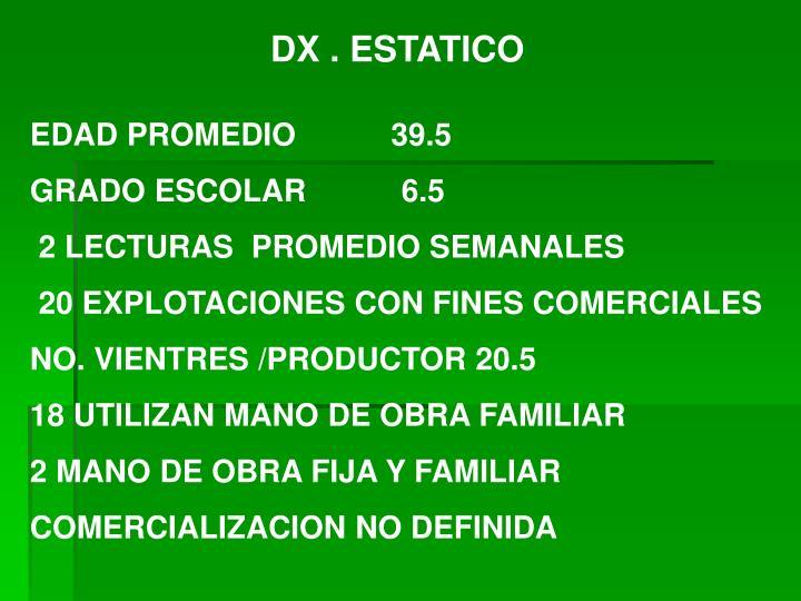 DX . ESTATICO