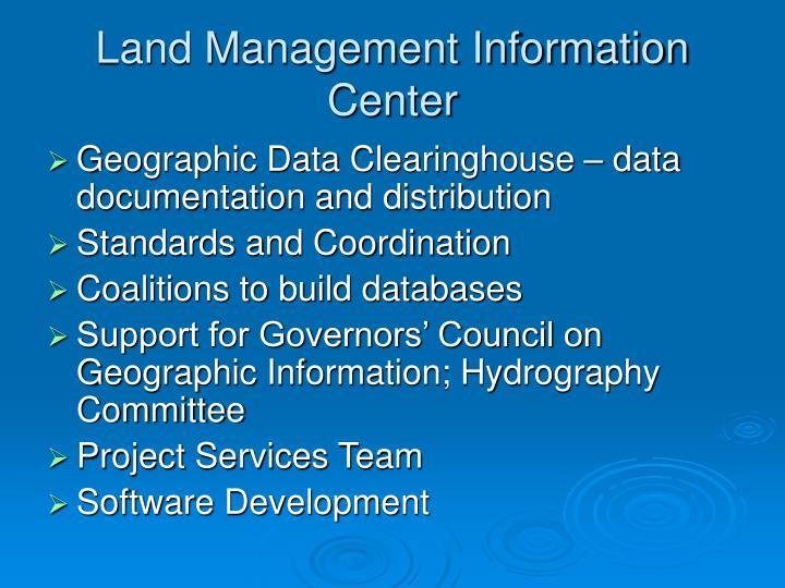 Land Management Information Center