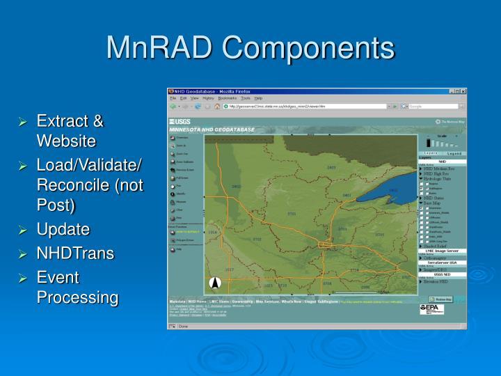 MnRAD Components