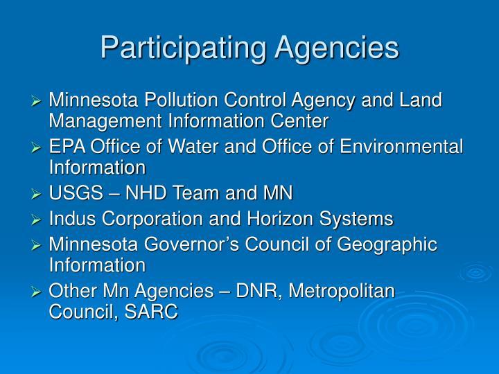 Participating Agencies
