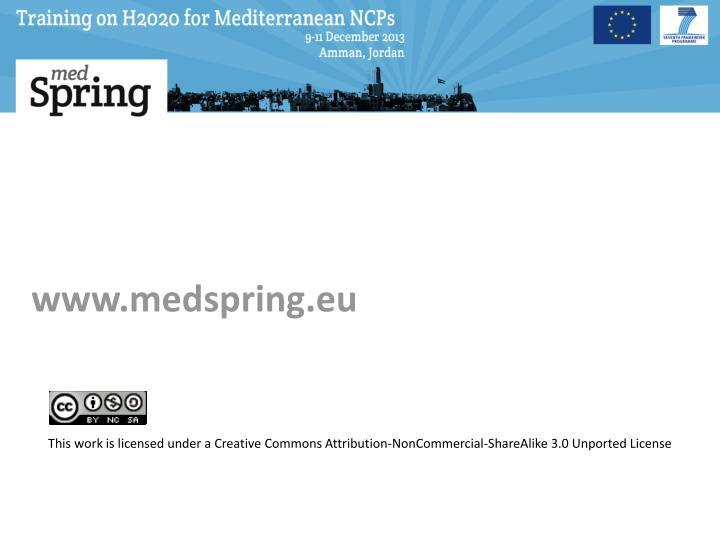 www.medspring.eu