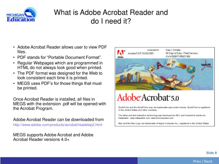 What is Adobe Acrobat Reader and