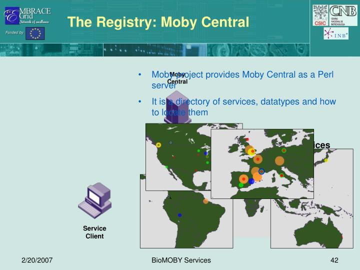 The Registry: Moby Central