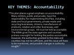 key themes accountability
