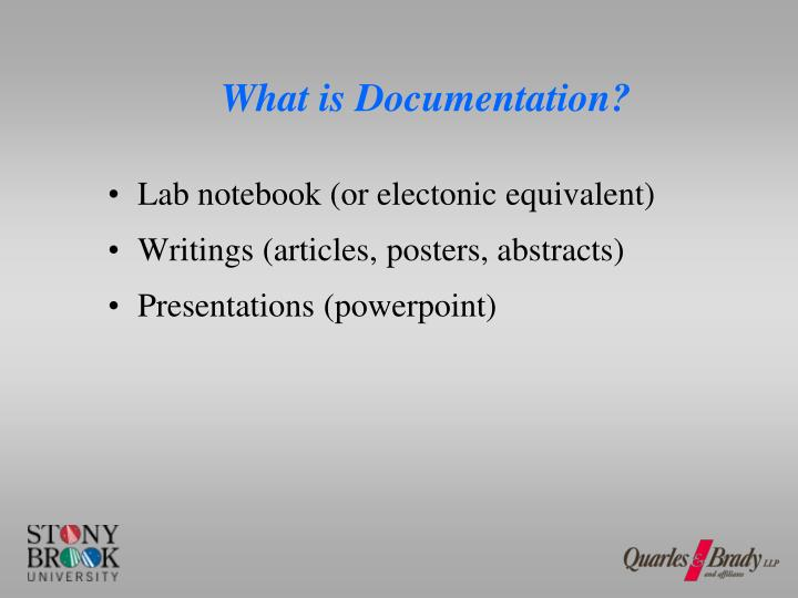 What is Documentation?