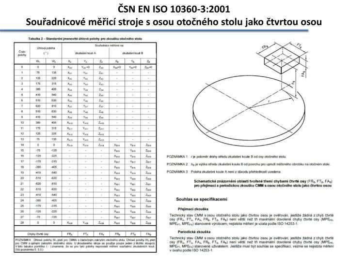 ČSN EN ISO 10360-3:2001