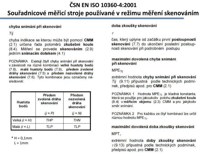 ČSN EN ISO 10360-4:2001